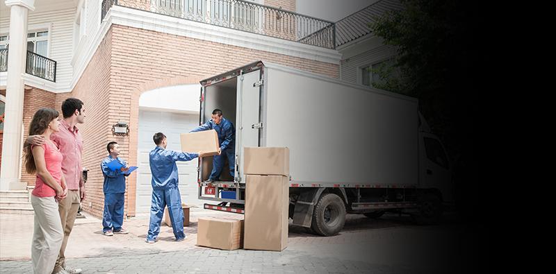 przewóz kartonów wsamochodzie dostawczym