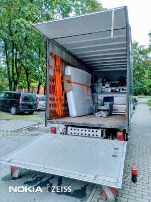 transport samochodem z hds - przeprowadzka 2